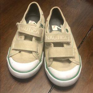 Nautica toddler boys shoes size 10